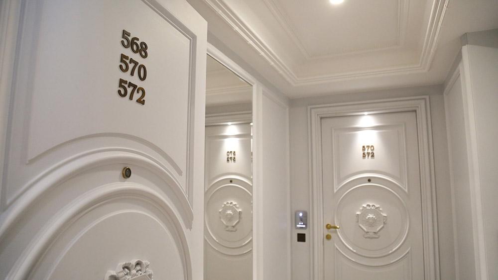signaletique orientation chambre hotel de paris monaco